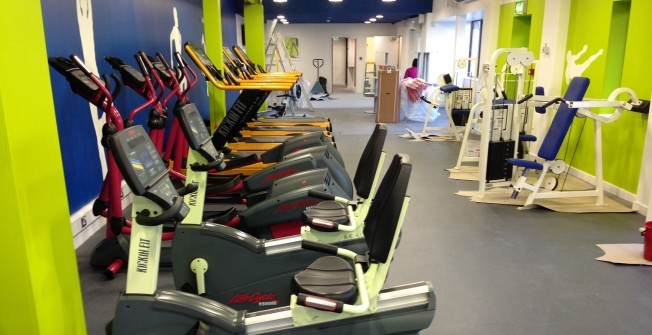 Prison Exercise Equipment in Appleby Parva