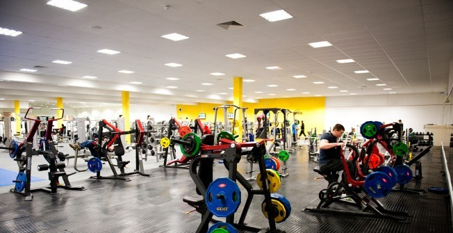 Gym Facility Support in Merthyr Tydfil